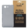 Capa + Película Xperia Z3 Compact Silicone TPU Premium - Husky - Fumê