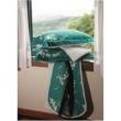 Kit Cobre - leito Casal Satinée Emerald 300 Fios com 2 Porta - Travesseiros - Kacyumara verde