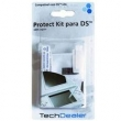 Kit Protetor de Tela Tech Dealer para Nintendo DS - Transparente