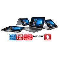 Notebook 2 em 1 Touch Dell Inspiron I11 - 3168 - A10 com Intel® Pentium® Quad Core, 4GB, 500GB, Leitor de Cartões, HDMI, Bluetoo