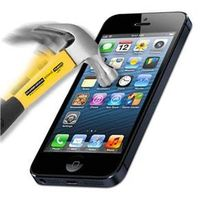 Pelicula de Vidro Blindada para iPhone 5