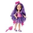 Barbie Chelsea Reino dos Penteados Mágicos - Roxo - Mattel