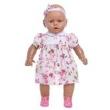 Boneca Estrela Meu Bebê Negro Rosa