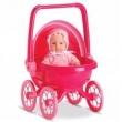 Mini Bebê Mania Carrinho de Bebê Roma Brinquedos