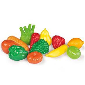 Kit Calesita Frutas e Verdura 209 12 Peças