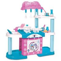 Playset Mega Cozinha com Lavadora - Disney Frozen - New Toys