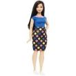 Boneca Barbie Fashionistas - Vestido de Bolinhas Dvx73