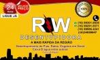 RW DESENTUPIDORA Fone (16) 99301-8838 /(16) 99291 8571  (16) 9-9986 4241 Franca SP Região