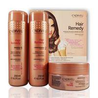 Cadiveu Hair Remedy Kit Shampoo + Condicionador + Máscara Reparação