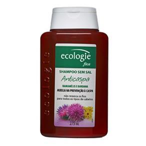 Ecologie Fios Anticaspa Ecologie - Shampoo Anticaspa - 275ml