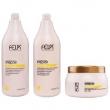 Felps Xrepair Bio Molecular Kit Shampoo, Condicionador e Máscara