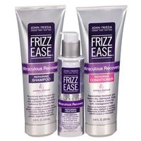 Frizz - Ease Miraculous Recovery Repairing John Frieda - Shampoo + Condicionador + Sérum Kit
