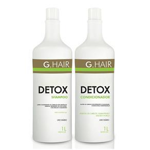 G. Hair Kit Shampoo e Condicionador Detox - 2x1L