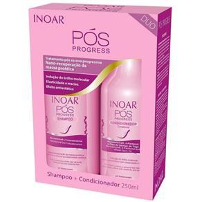 Inoar Kit Duo Pós Progress Shampoo 250ml+ Condicionador 250ml