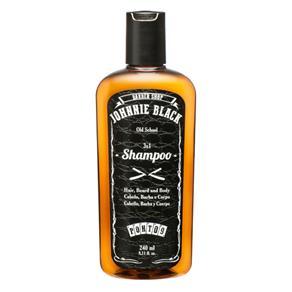 Johnnie Black Shampoo para Cabelo, Barba, e Corpo