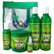 Kit Cosmeticos Boe Pack ( Shampoo / Condic / Mascara / Leave / Ampola ) Com 5 Produtos Crece Pelo