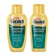 Kit Niely Gold Cachos Shampoo Sem Sal 300ml + Condicionador 200ml