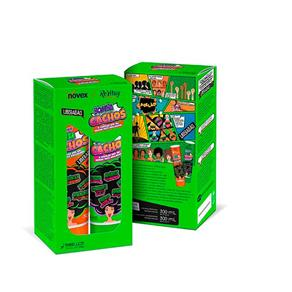 Kit Revitay Novex Meus Cachos Bomba Cachos Shampoo 300ml + Condicionador 300ml
