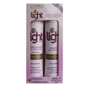 Kit Shampoo + Condicionador Charis Light Kit