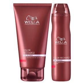 Kit Shampoo + Condicionador Wella Professionals Color Recharge Cool Blonde