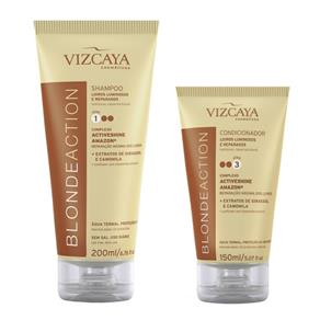 Kit Vizcaya Blonde Action Shampoo 200ml + Condicionador 200ml