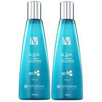 Mediterrani Equal System Duo Kit Shampoo ( 250ml ) e Condicionador ( 250g )
