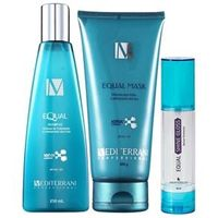 Mediterrani Equal System Kit Shampoo ( 250ml ) , Máscara ( 200g ) e Shine Gloss ( 50ml )