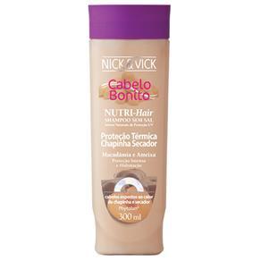 Nick & Vick Nutri - Hair Proteção Térmica - Shampoo