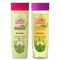 Nutri - Hair Clareador Nick & Vick - Kit Shampoo 300ml + Condicionador 300ml Kit