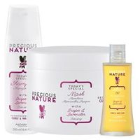 Precious Nature Curly & Wavy Hair Alfaparf - Shampoo + Máscara + Leave - In Kit