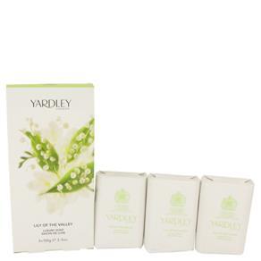 Sabonete Yardley London Lily Of The Valley Yardley 3 Unidades De 100 Gramas Sabonete