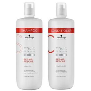 Schwarzkopf Bc Bonacure Repair Rescue Duo Kit Shampoo e Condicionador