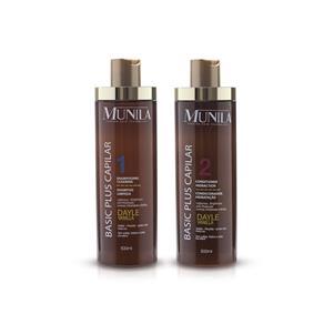 Shampoo e Condicionador Basic Plus Capilar - Munila - 7899815706190c