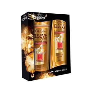 Shampoo Elseve Óleo Extraordinário 400Ml + Condicionador 200Ml
