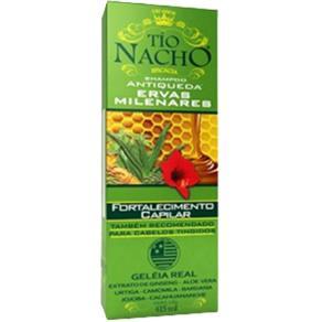 Tío Nacho Shampoo Antiqueda Fortalecedor Capilar C / Geléia Real E Ervas Milenares 415Ml
