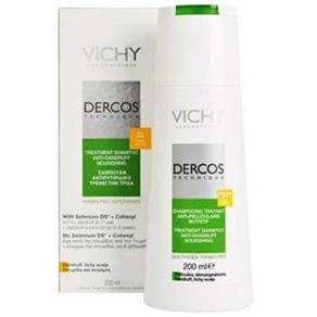Vichy Dercos Shampoo Anticaspa Couro Cabeludo Sensível 200Ml