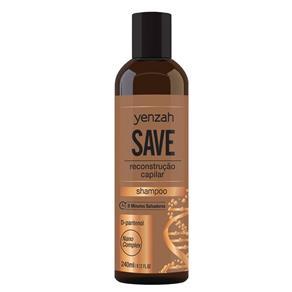 Yenzah Save Shampoo de Reconstrução Capilar