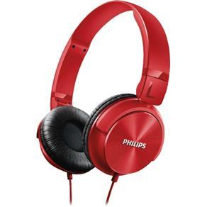 Fone de Ouvido Estilo DJ com Graves Nítidos SHL3060RD / 00 Vermelho PHILIPS