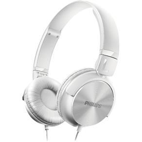 Fone de Ouvido Estilo DJ com Graves Nítidos SHL3060WT0 Branco PHILIPS