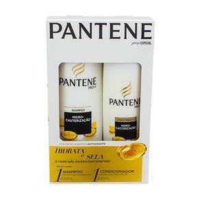 Kit Pantene Hidro - Cauterização Shampoo 400Ml + Condicionador 200Ml