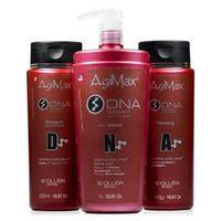 Agi Max Kit DNA Shampoo de Limpeza, Anti - Volume e Bálsamo Finish