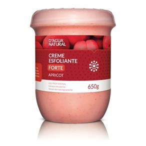 Creme Esfoliante Apricot Forte D`agua Natural