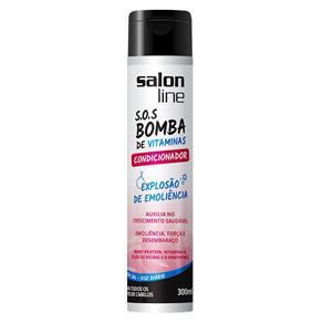 Condicionador Professional Sos Bomba de Vitaminas 300Ml - Salon Line
