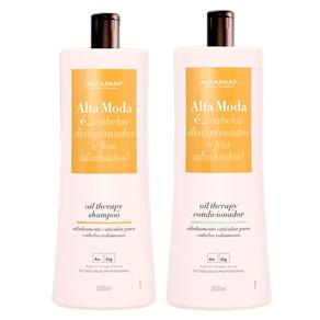 Kit Alta Moda Oil Therapy Shampoo 300ml + Condicionador 300ml