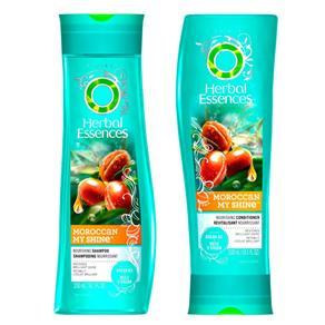 Moroccan My Shine Herbal Essences - Kit Shampoo 300ml + Condicionador 300ml Kit