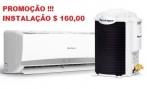 Instalação de ar condicionado split Imperdível R$ 160,00 na Empresa Quality