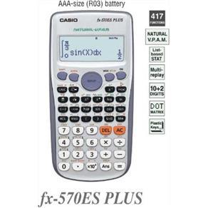 Calculadora Cientifica Casio FX - 570ES Plus 417 Funções
