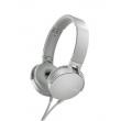 Headphone Sony com Extra Bass MDR - XB550AP - Branco Gelo