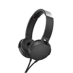 Headphone Sony com Extra Bass MDR - XB550AP - Preto