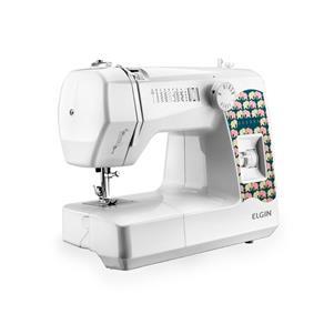 Máquina de Costura Portátil Decora JX - 2080 - Elgin 220V